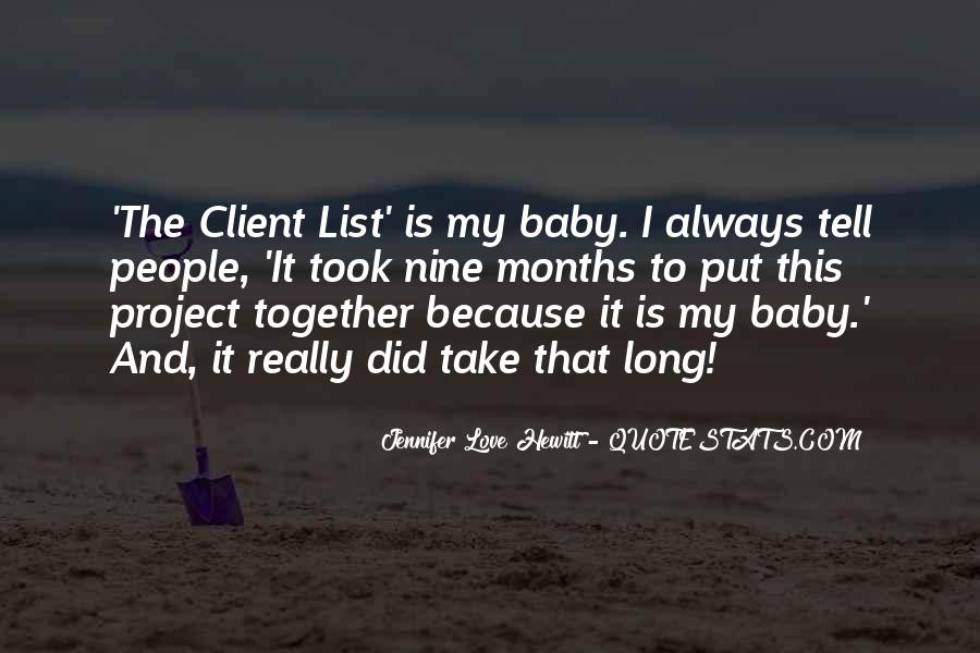 I Am Really Sorry Baby Quotes #10646