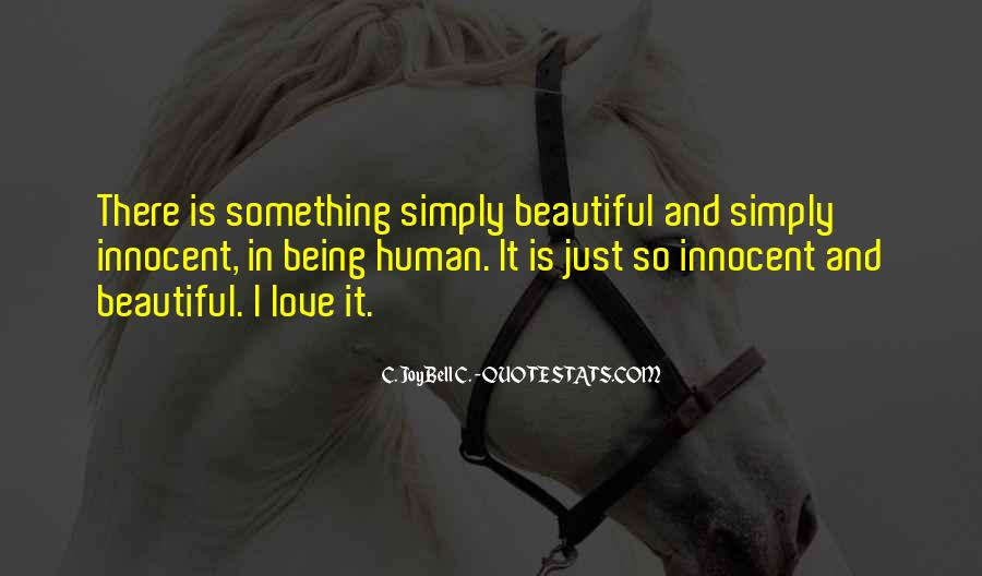 I Am Simply Beautiful Quotes #201998