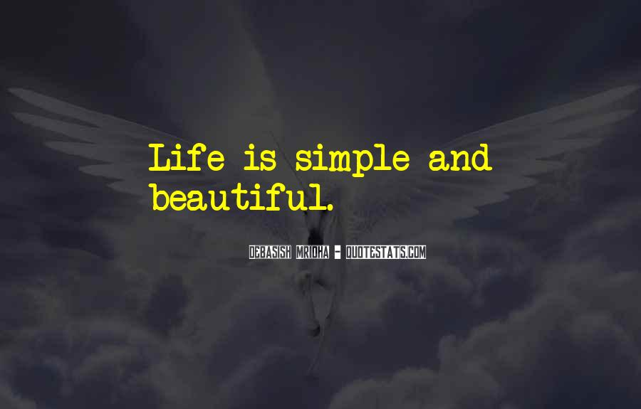 I Am Simply Beautiful Quotes #304494