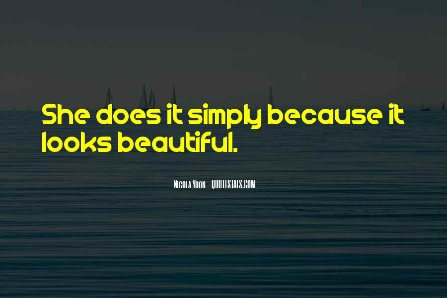 I Am Simply Beautiful Quotes #468798