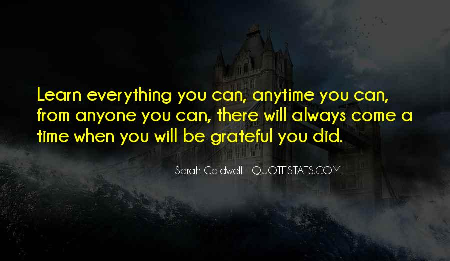 I Am So Grateful For Everything I Have Quotes #136277