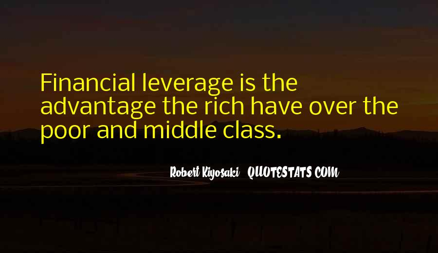 Quotes About Financial Leverage #1314275