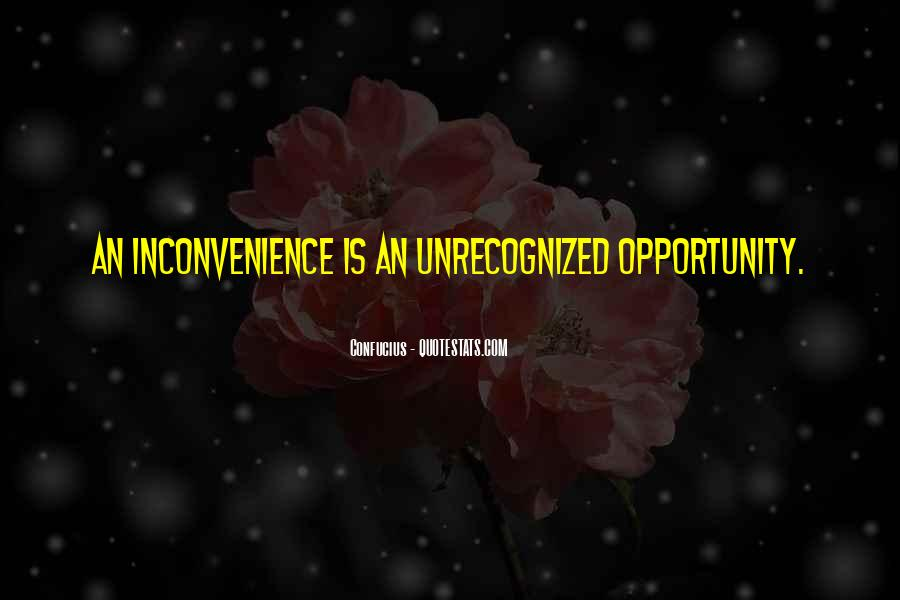 I Am Sorry For The Inconvenience Quotes #166254