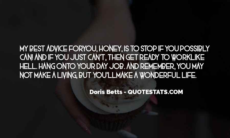 I Am Sorry Honey Quotes #16085
