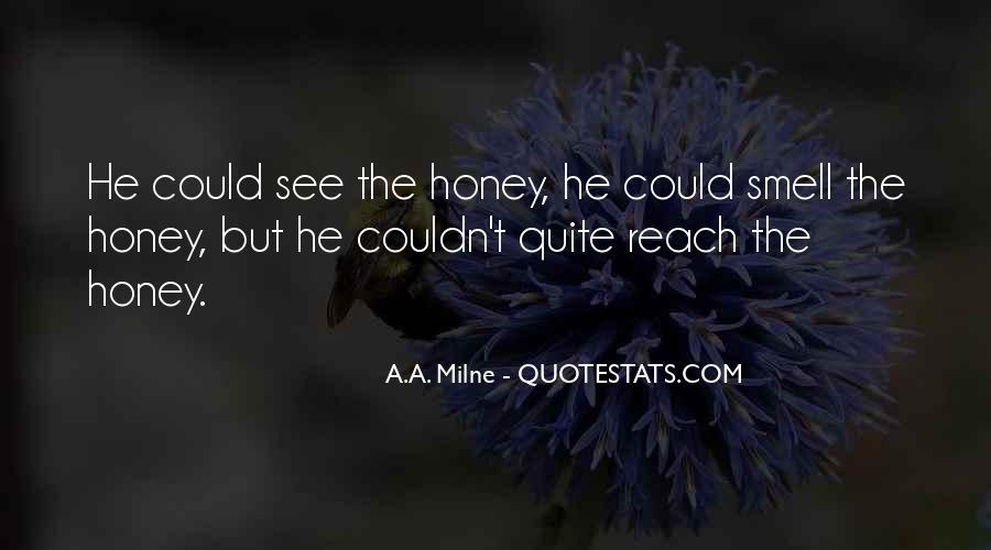 I Am Sorry Honey Quotes #17253