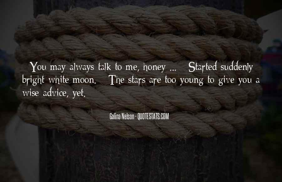 I Am Sorry Honey Quotes #19339