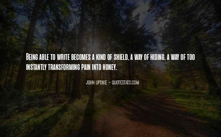 I Am Sorry Honey Quotes #20759