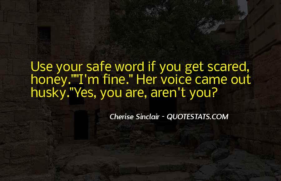 I Am Sorry Honey Quotes #31670