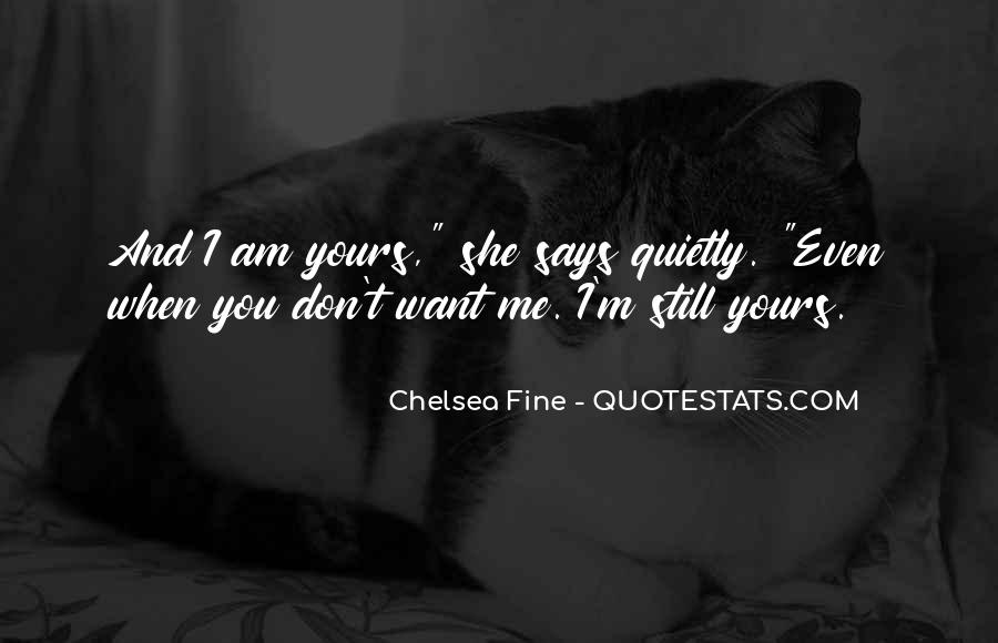 I Am Still Yours Quotes #25111