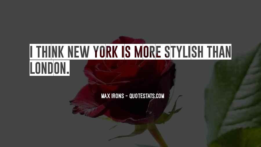 I Am Stylish Quotes #117529