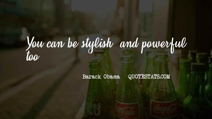 I Am Stylish Quotes #199943
