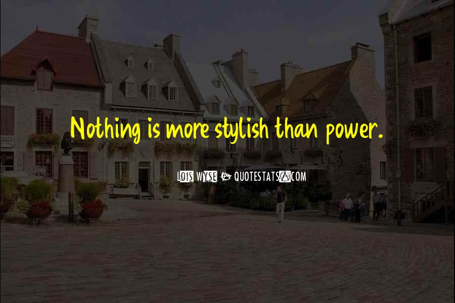 I Am Stylish Quotes #318744