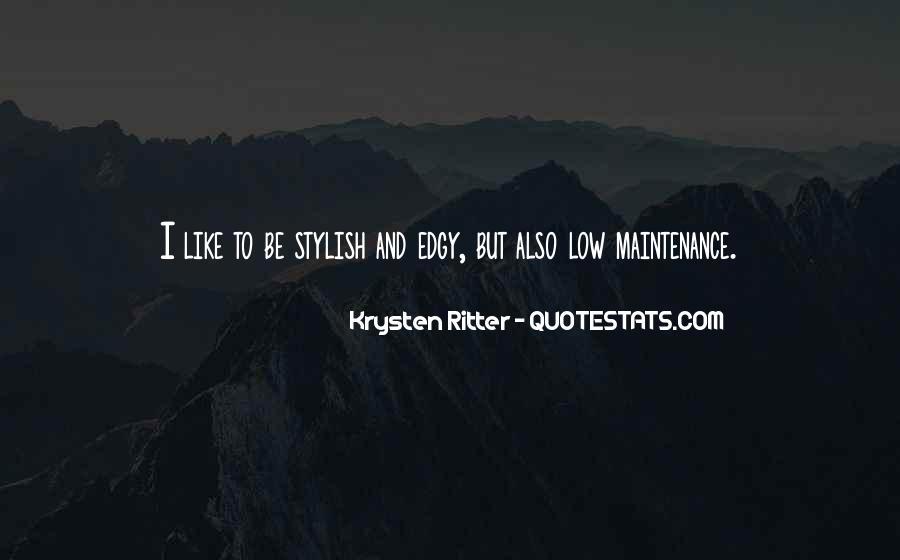 I Am Stylish Quotes #397495