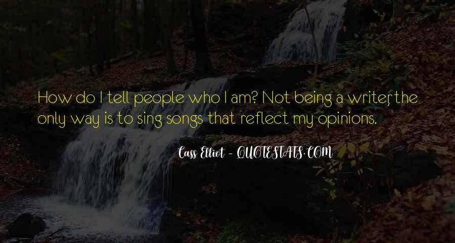 I Am The Way I Am Quotes #81066