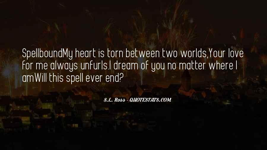 I Am Torn Quotes #1509015