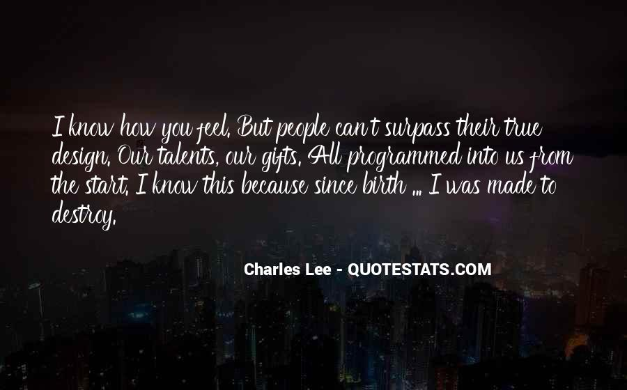 I Can Destroy You Quotes #768114