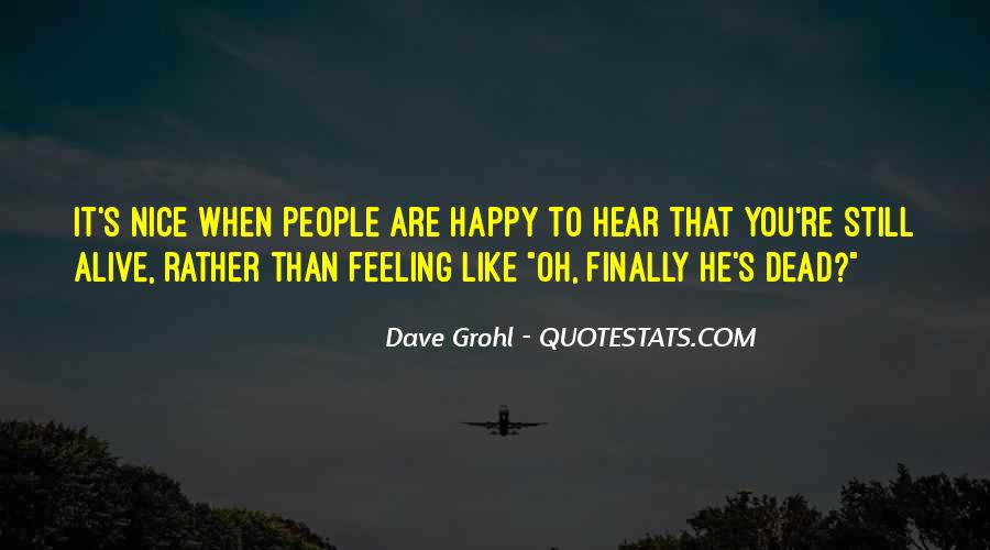 I Can Finally Be Happy Quotes #1035855