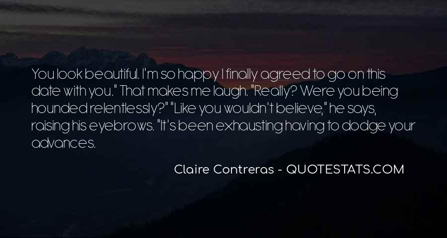 I Can Finally Be Happy Quotes #115584