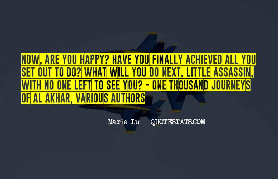 I Can Finally Be Happy Quotes #1556065