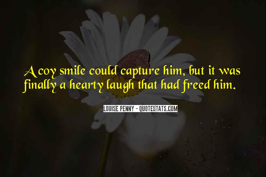 I Can Finally Smile Quotes #1612117