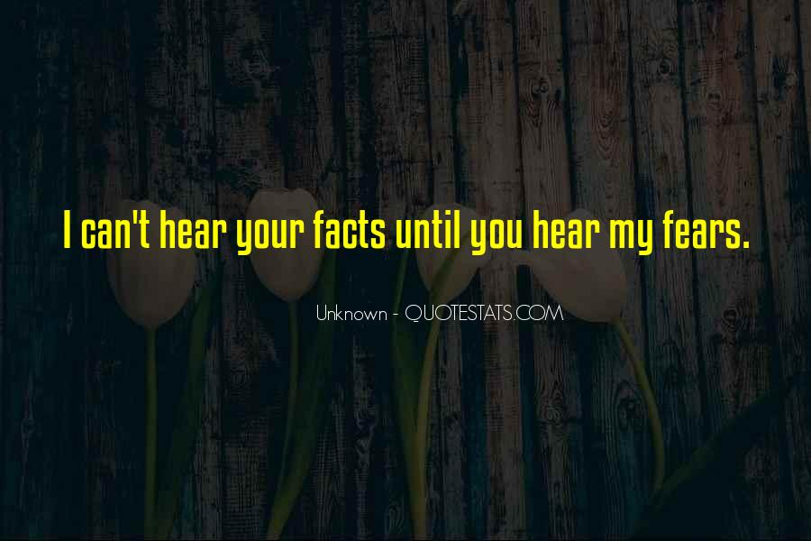 I Can Hear Quotes #129065