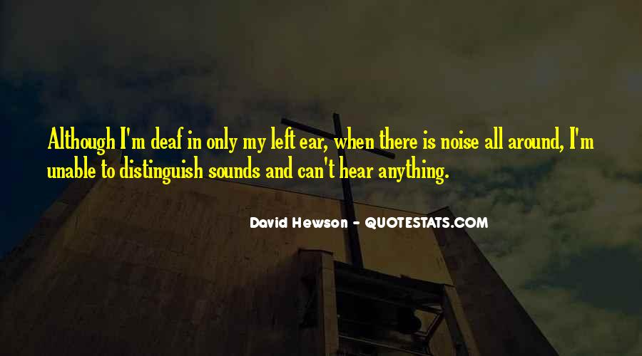 I Can Hear Quotes #157423