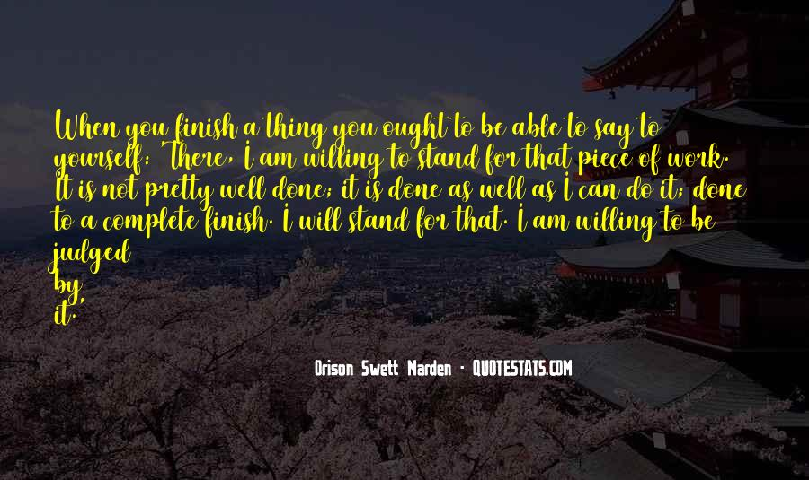 I Can I Will Quotes #36705