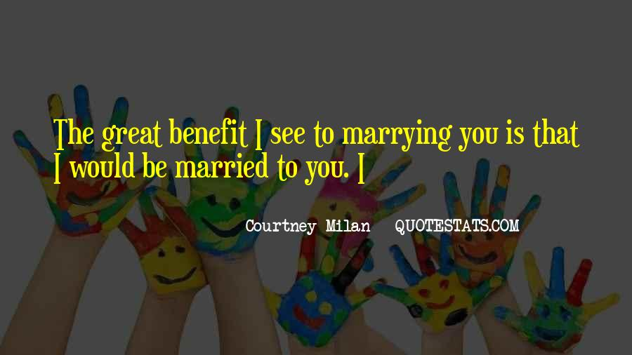 I Can See Myself Marrying You Quotes #1217235