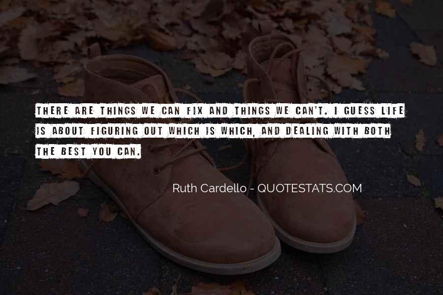I Can't Fix You Quotes #1058827