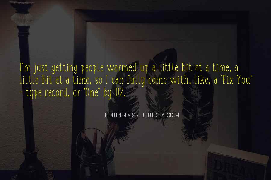 I Can't Fix You Quotes #142538