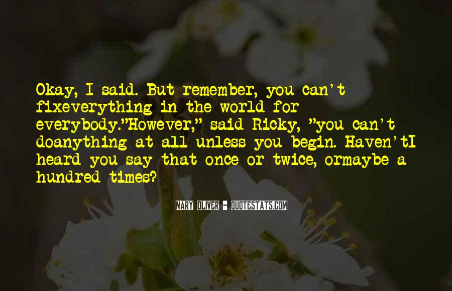 I Can't Fix You Quotes #1800126