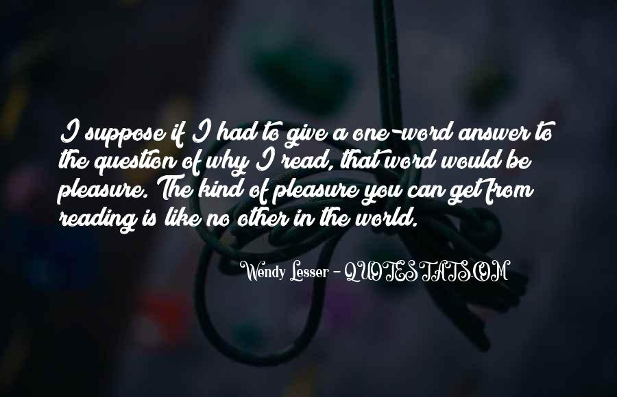 I Can't Give You The World Quotes #1069109