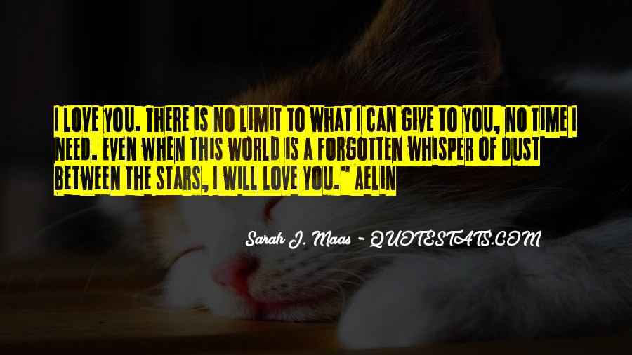 I Can't Give You The World Quotes #961850