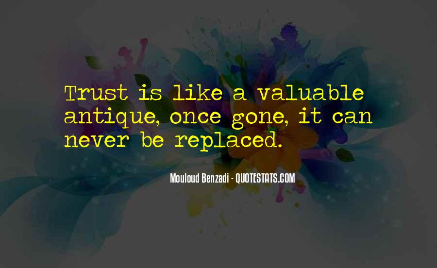 I Could Never Trust You Quotes #111680