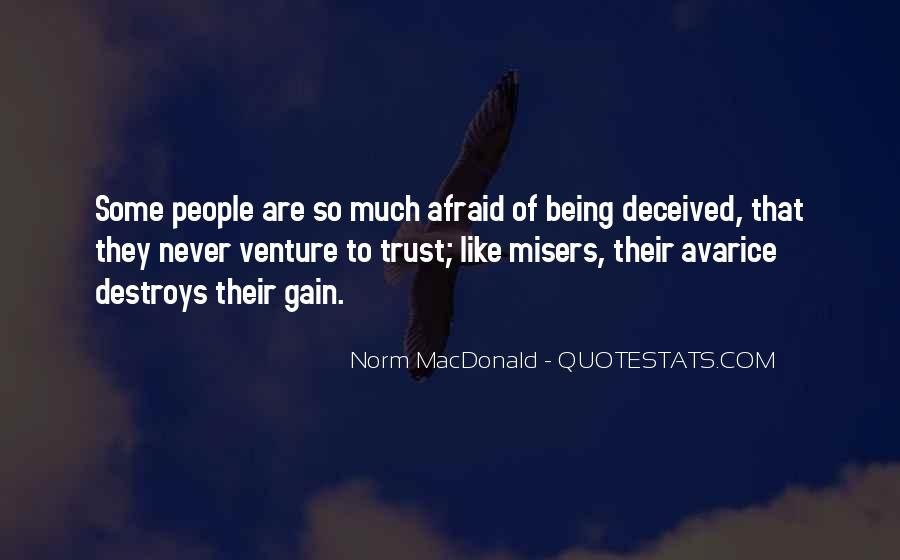 I Could Never Trust You Quotes #112299