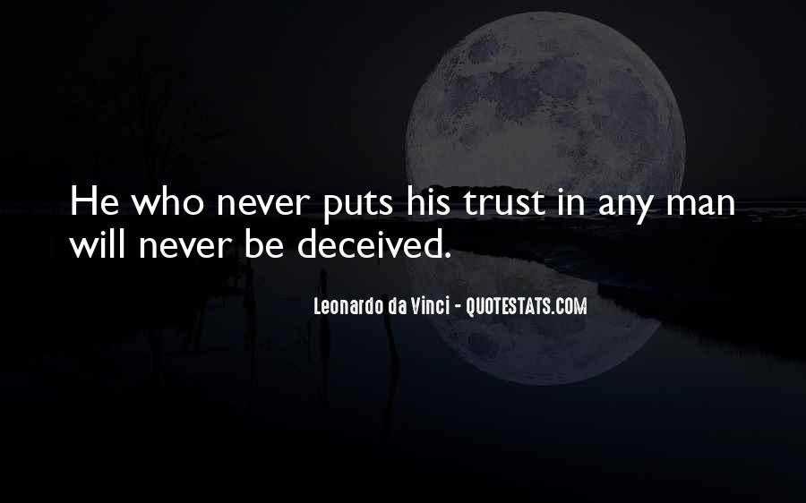 I Could Never Trust You Quotes #86103