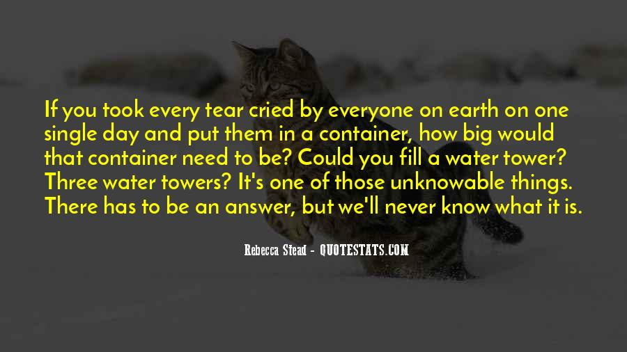 I Cried A Tear Quotes #335545