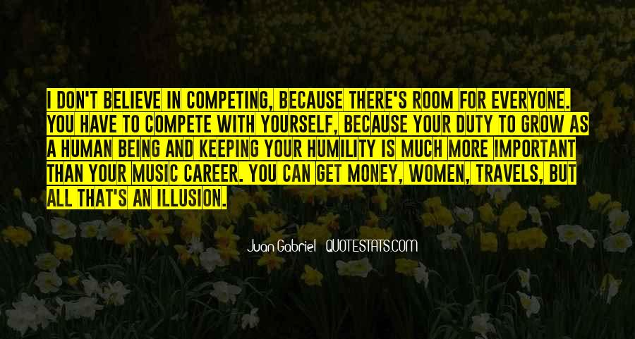 I Don Compete Quotes #1018151