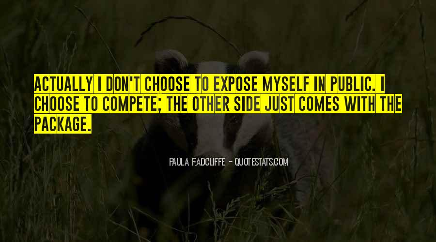 I Don Compete Quotes #1106917