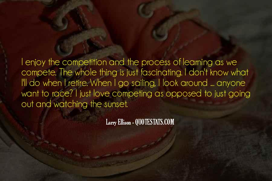 I Don Compete Quotes #113491