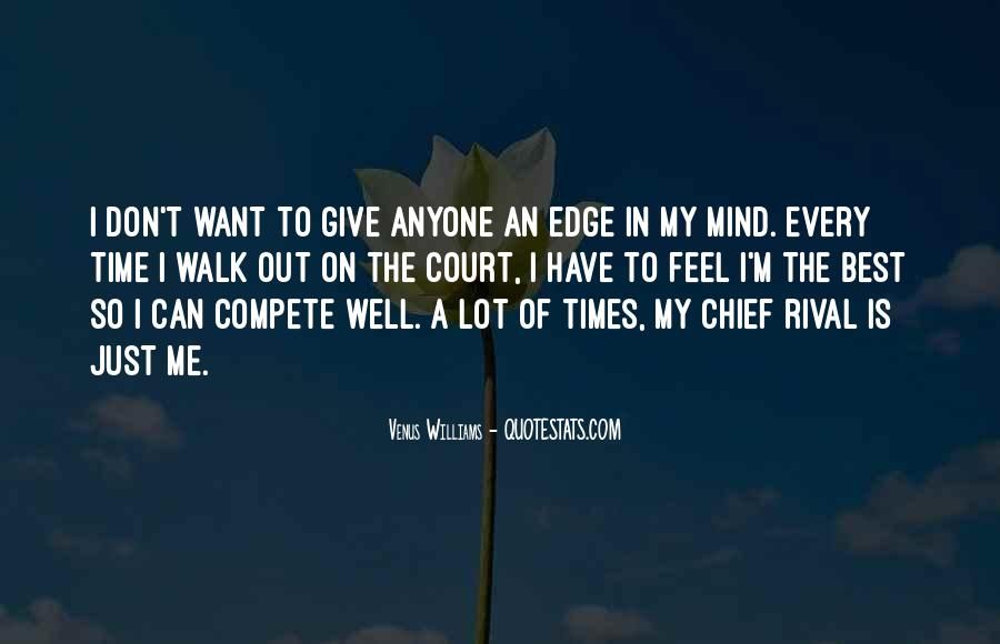 I Don Compete Quotes #136590