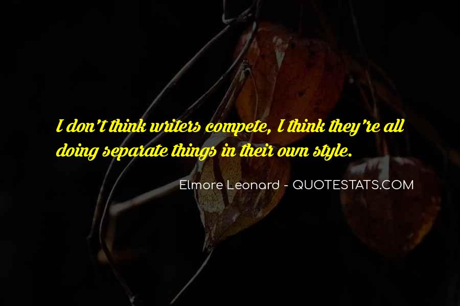I Don Compete Quotes #1540491