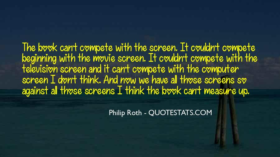 I Don Compete Quotes #874007