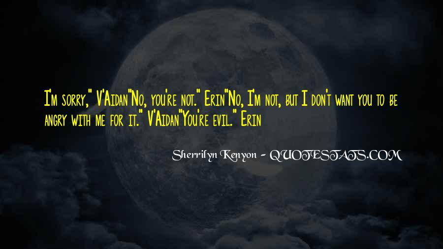 I Don't Get Angry With U Quotes #143296