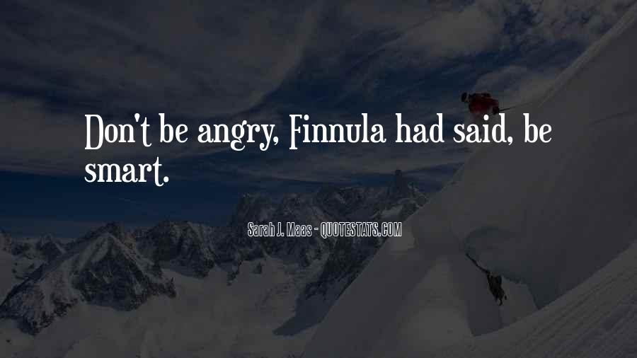I Don't Get Angry With U Quotes #61889