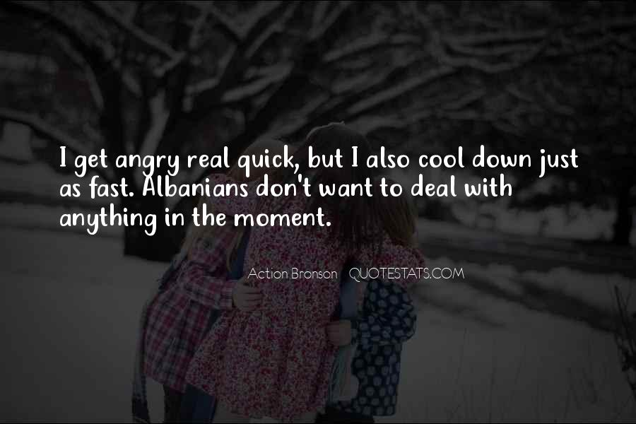 I Don't Get Angry With U Quotes #88323