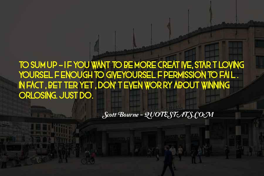 I Don't Give Up Quotes #154821