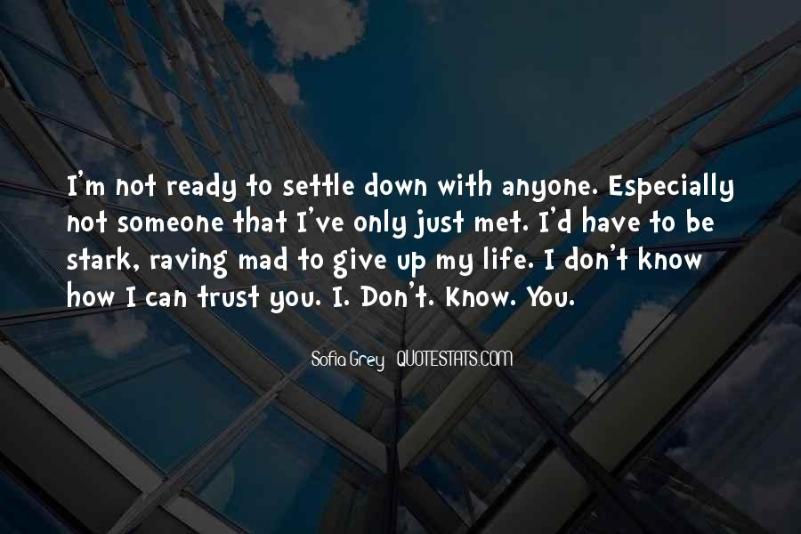 I Don't Give Up Quotes #210208