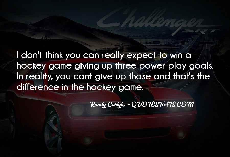 I Don't Give Up Quotes #290644