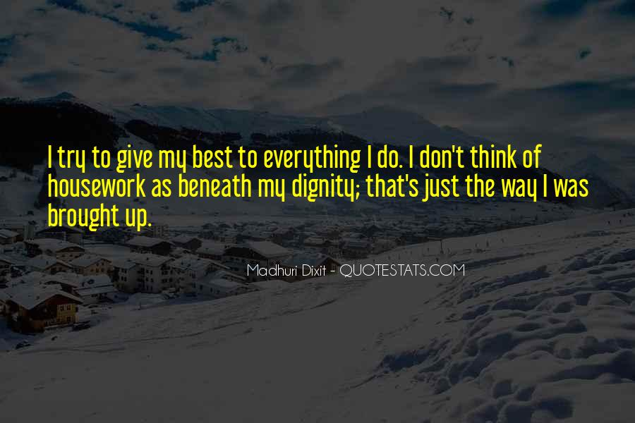 I Don't Give Up Quotes #301805